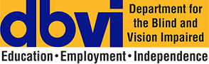 Virginia Department for the Blind and Vision Impaired logo